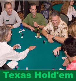 Texas Hold'em for Casino Parties: